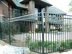 ELITE 3-Rail Aluminum Pool Fence 195' 48