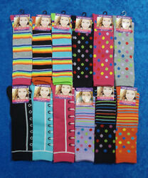 Elite Collection Girls Knee High Socks 12 Colors To Choose $2.99