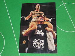 Boxer Tommy 'Boom Boom' Coyle Signed & Inscribed Victory Photo 'Hull and Proud'