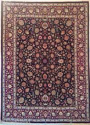 Private Collection Vintage Large Mashhad All over Persian Rug 10X13 - 90 Raj