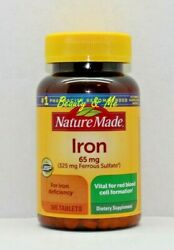 Nature Made Iron 65 mg 365 Tablets Dietary Supplement $13.30