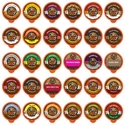 Crazy Cups Flavored Coffee Single Serve Cups for Keurig K Cups Sampler 30 count $18.79