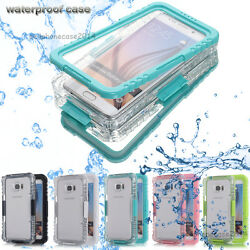 Waterproof Shockproof Hard Case Cover Samsung Galaxy S10+ S9 Note 10 Plus 9 8 S7 $10.89