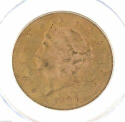 1899 P Gold Liberty Twenty Dollar $20 PCGS MS64 Coin