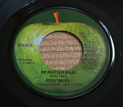 BADFINGER No Matter What  Carry On Till Tomorrow NM w Apple sleeve 1822