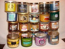 Bath amp; Body Works Scented Candle 3 Wick 14.5 oz You Pick One Choice A L Title $24.99