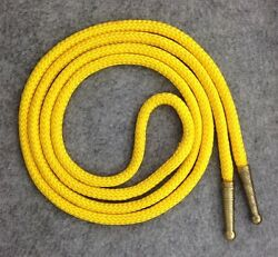 Bolo Tie Cord in Yellow with Gold Plated Tips 41quot; Long $4.75