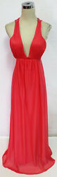SEQUIN HEARTS Coral Prom Formal Party Gown 13 $135 NWT $38.77