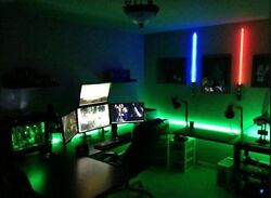 DESK LED Light KIT - all colors including XBox One Green w Remote Controller B $48.57