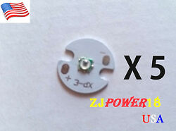 5pc 3535 high power 850nm Infrared LED Light IR led chip with 16mm Round pcb $9.99