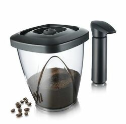 Vacuum Coffee Saver Cookies Nuts Storage Pot Canister Holder Kitchen Container $33.11