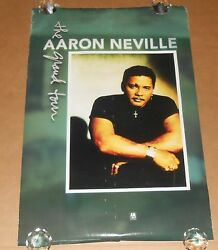 Aaron Neville The Grand Tour Promo 1993 Original Poster 24x36