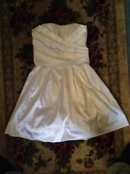 Pearl White Dresses $30.00