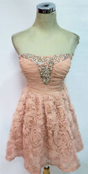 WINDSOR Pink Homecoming Party Prom Dress 11 $80 NWT $28.77