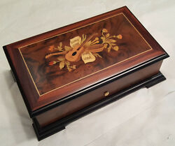 Reuge Music Traditional 1.50 Note Reuge Movement Box -