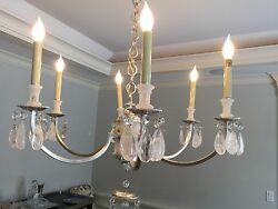 Rock Crystal Chandelier Light By Thomas O#x27;Brien $4100.00
