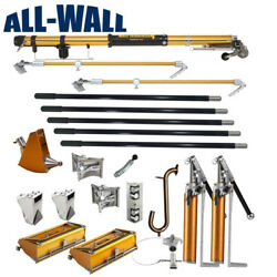 TapeTech Jumbo Drywall TapingFinishing Set w2 Pumps + Nail Spotters