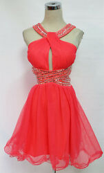 BLONDIE NITES Pink Cocktail Party Prom Dress 9 $150 NWT $38.77