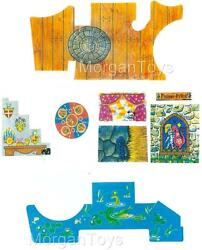 VINTAGE LITTLE PEOPLE FISHER PRICE CASTLE 993 REPLACEMENT LITHOS STICKERS DECALS $18.99