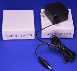 2 Pack 12V 1.25A Universal Switching Power Supply AC Adapter $10.99