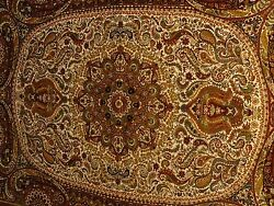 4 foot x 6 foot Pure Silk on Silk Oriental Area Rug with Appraisal