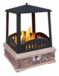 Landmann 22812 Grandview Outdoor Gas Fireplace New Free Shipping