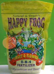 FoxFarm Happy Frog FRUIT amp; FLOWER 4 lbs Natural Organic Fertilizer Fox Farm 4 lb $21.00