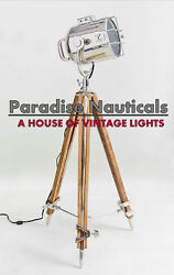 Steel Floor Accent Lamp Nautical Handmade Lamp For Home Desktop Decor x 100