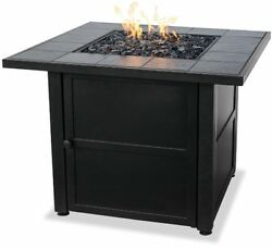 Fire Pit Outdoor Patio Fireplace Heater Backyard Firepit Propane Cover Wood