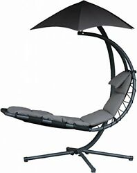 Patio Lounger Chair Pool Outdoor Lounge Folding Chaise Recliner Furniture Deck