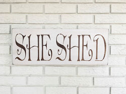 Large Rustic Wood Sign -