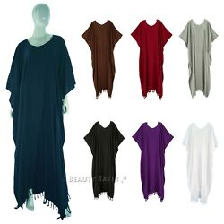 BeautyBatik Women Caftan Kaftan Loungewear Maxi Plus Size Long Dress 1X 2X 3X $32.99