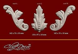 plastic molds for CLASSIC DECOR wall ceiling plaster elements DIY making $56.70