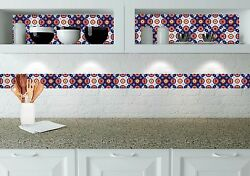 Decals 24 Mexican Tile Stickers for bathroom Decals murals backsplash D11