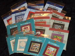 *Mill Hill BUTTONS & BEADS Counted Cross Stitch Kits YOU CHOOSE! WinterAutumn+