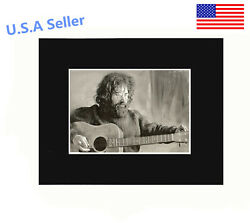 Jerry Garcia 8x10 matted Art Print Poster Decor picture Gift Photograph Display  $9.98
