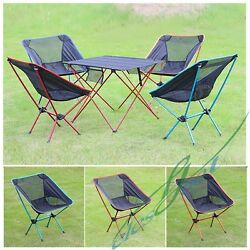 2x Folding Camping Chair 44*33*65cm Portable High Strength For Outdoor Garden【US