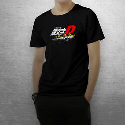 Initial D Fourth Stage Mens Black T Shirt $22.49