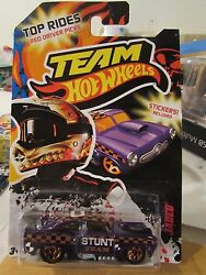 Team Hot Wheels Jaded Purple Stickers Included $4.99