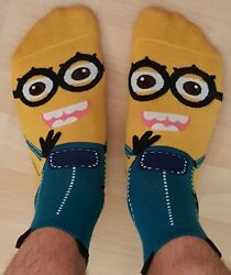 Minions Soft Unisex Super Fun Socks $2.99