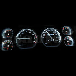 NEW Dash Instrument Cluster Gauge WHITE LED LIGHT KIT Fit 84-96 Jeep Cherokee XJ $13.99
