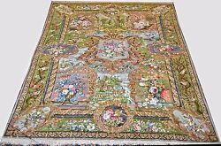 Private Collection One of Kind Persian Tabriz 7x10 Area Rug - 70 Raj Naghashpour