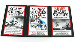 Scary Stories To Tell In The Dark Book Set Volume 123 Kids books New