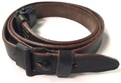 WWII GERMAN K98 98K RIFLE LEATHER RIFLE CARRY SLING $15.96