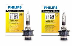 2x Authentic Philips D4R HID Upgrade Xenon Bright WHITE 200% More Light Bulb OEM