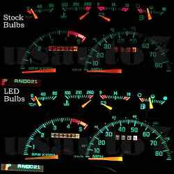 NEW Dash Cluster Gauge WHITE LED LIGHTS KIT Fits 88-94 Chevy GMC CK1500 CK2500 $11.99
