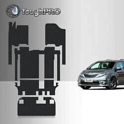 ToughPRO Heavy Duty All-Weather Floor Mats Set For 2011-2020 Toyota Sienna