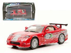 Dom's 1993 Mazda RX-7 Red The Fast and The Furious Movie (2001) 143