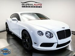2013 Bentley Continental GT V8 2013 Bentley Continental GT V8 41068 Miles Ghost White 3 Coat Pearlescent 2D Cou