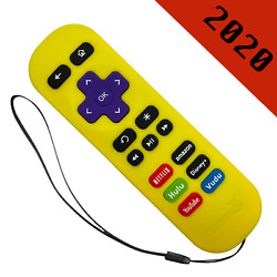 Newest Replacement Remote for ROKU 1 2 4 Express Premiere Ultra Yellow $9.89